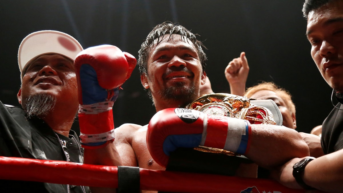 Manny Pacquiao, the Philippine Boxing Champ, Launches His Own Cryptocurrency