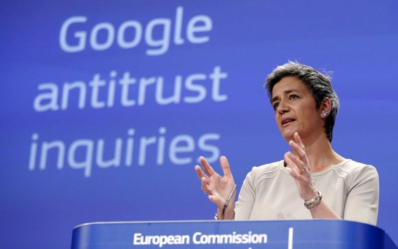 Google Antitrust Fine Will Benefit EU Citizens, Says Commissioner Vestager