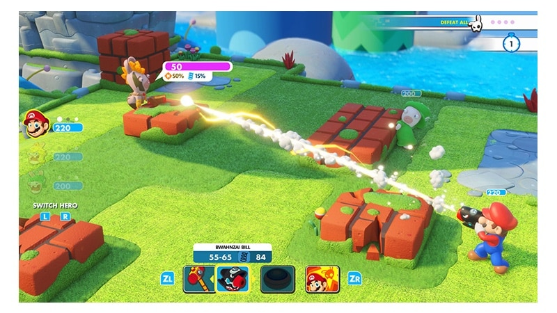 Rabbids Kingdom Battle at 10am PT/1PM ET
