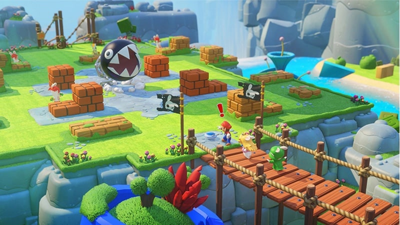 mario rabbids kingdom battle map monster Mario Rabbids Kingdom Battle