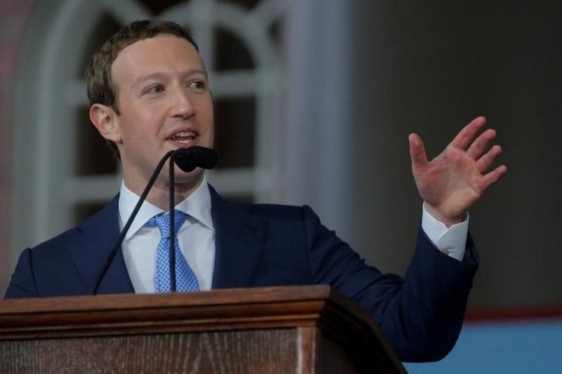 Mark Zuckerberg Becomes World's Third Richest Person as Facebook Stock Soars