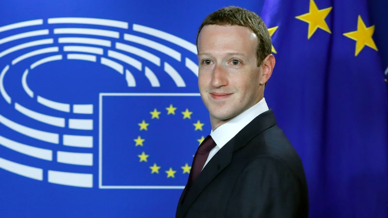 Facebook CEO Mark Zuckerberg to Face Pressure on Taxes in Meeting With Marcon