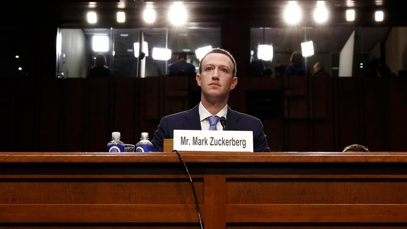 Zuckerberg, Contrite, Says Facebook in 'Arms Race' With Russia