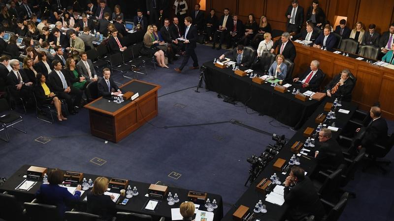 Facebook CEO Mark Zuckerberg Explains How the Social Network Works to Senators