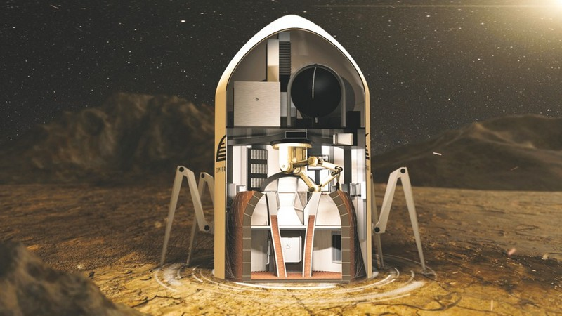 Robots Might Build Our Houses on Mars