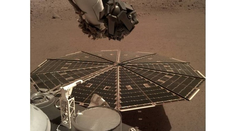 NASA's InSight Lander 'Hears' Wind on Mars