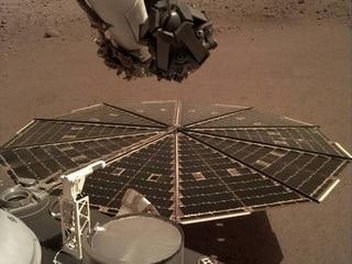 NASA's InSight Lander Now Providing Daily Weather Data From Mars  Social: Same