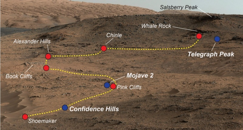NASA's Curiosity Rover Finds Diverse Minerals in Mars Rocks