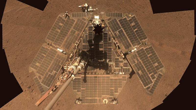 NASA's Opportunity Rover Silenced by Dust Storm on Mars
