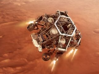 Mars Rover Perseverance From NASA Attempting Most Difficult Touchdown Yet