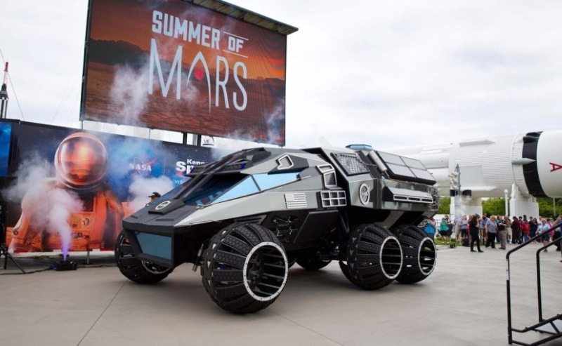 nasa unveils out of this world mars rover technology news