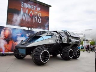NASA Unveils 'Out of This World' Mars Rover