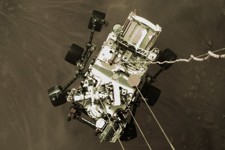 Mars Perseverance Rover Landing Video, Audio From Mars by NASA: 'Stuff of Our Dreams'