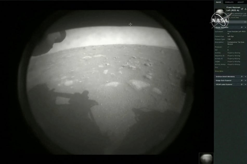 NASA Mars Rover Perseverance Makes Historic Landing, to Look for Signs of Ancient Microbial Life