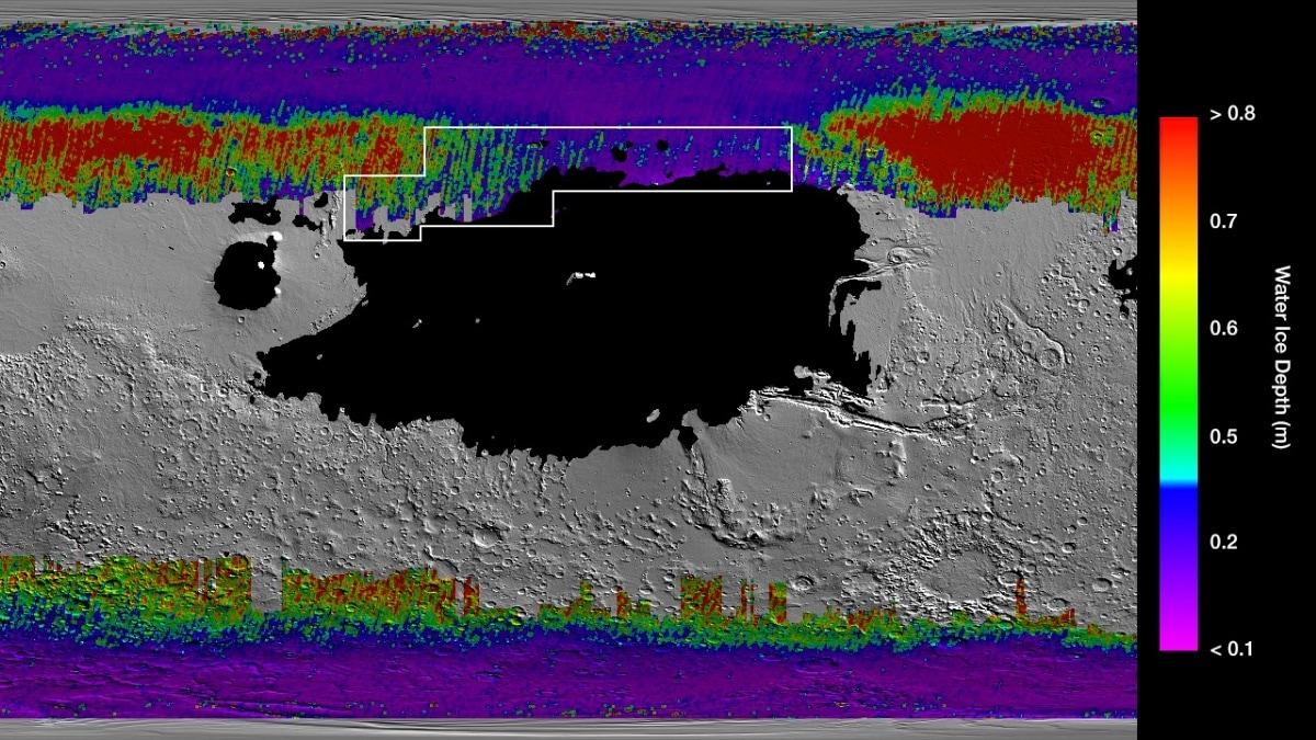 মঙ্গলপৃষ্ঠে বেলচা দিয়ে খুঁড়লেই মিলবে জল, জানাল NASA