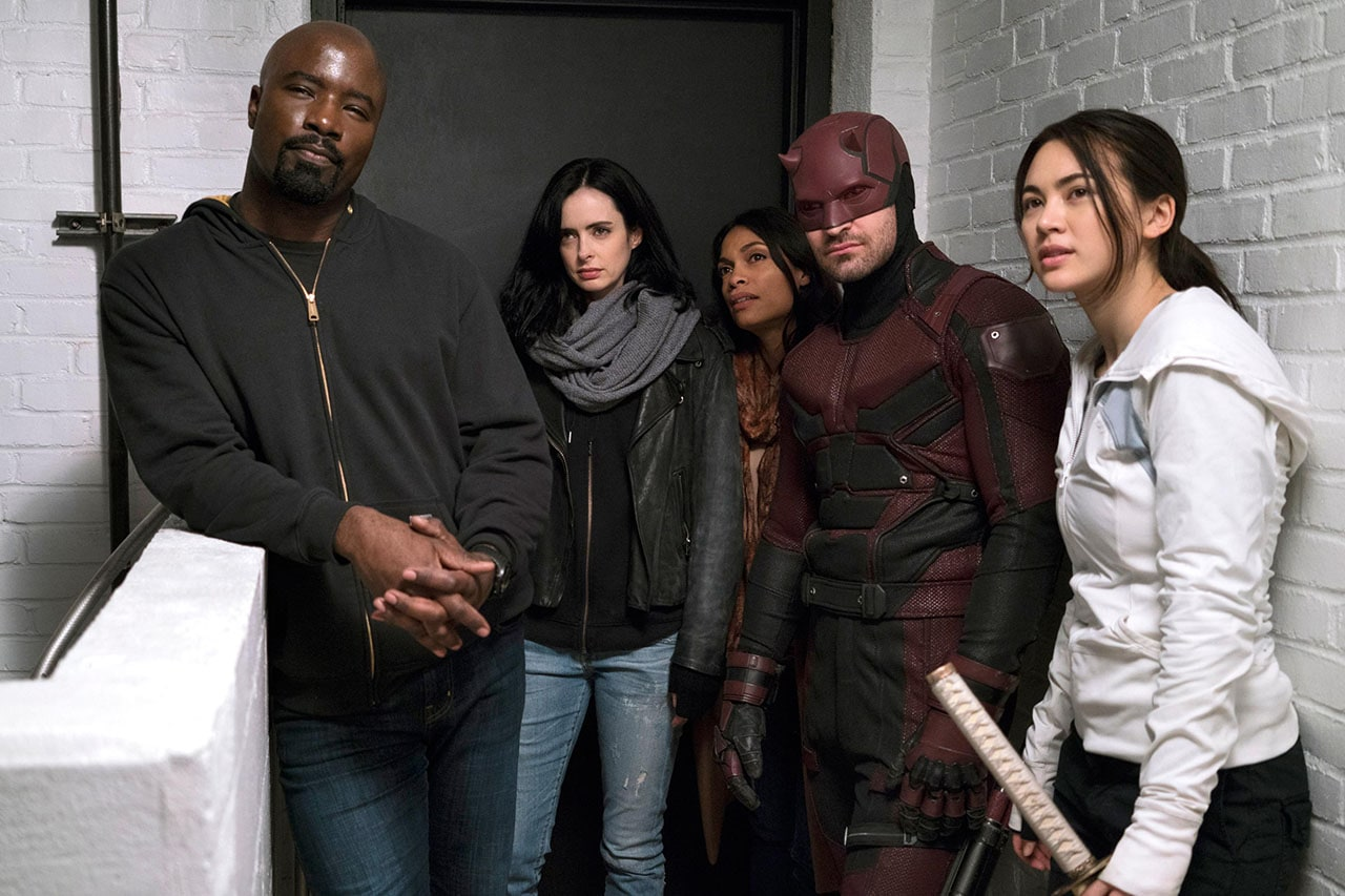 The defenders is avengers on tv with the usual marvel for Fishing shows on netflix