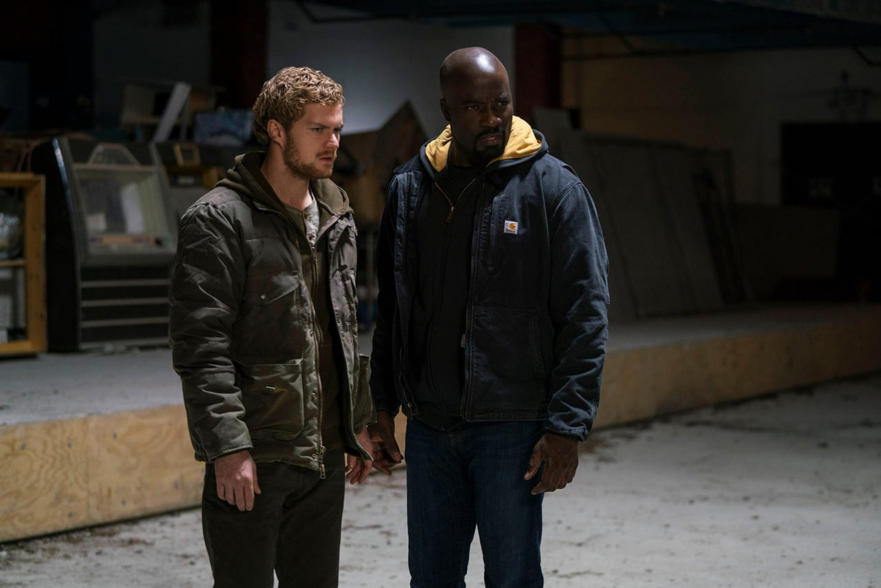 marvel defenders iron fist luke cage Defenders Marvel Iron Fist Luke Cage