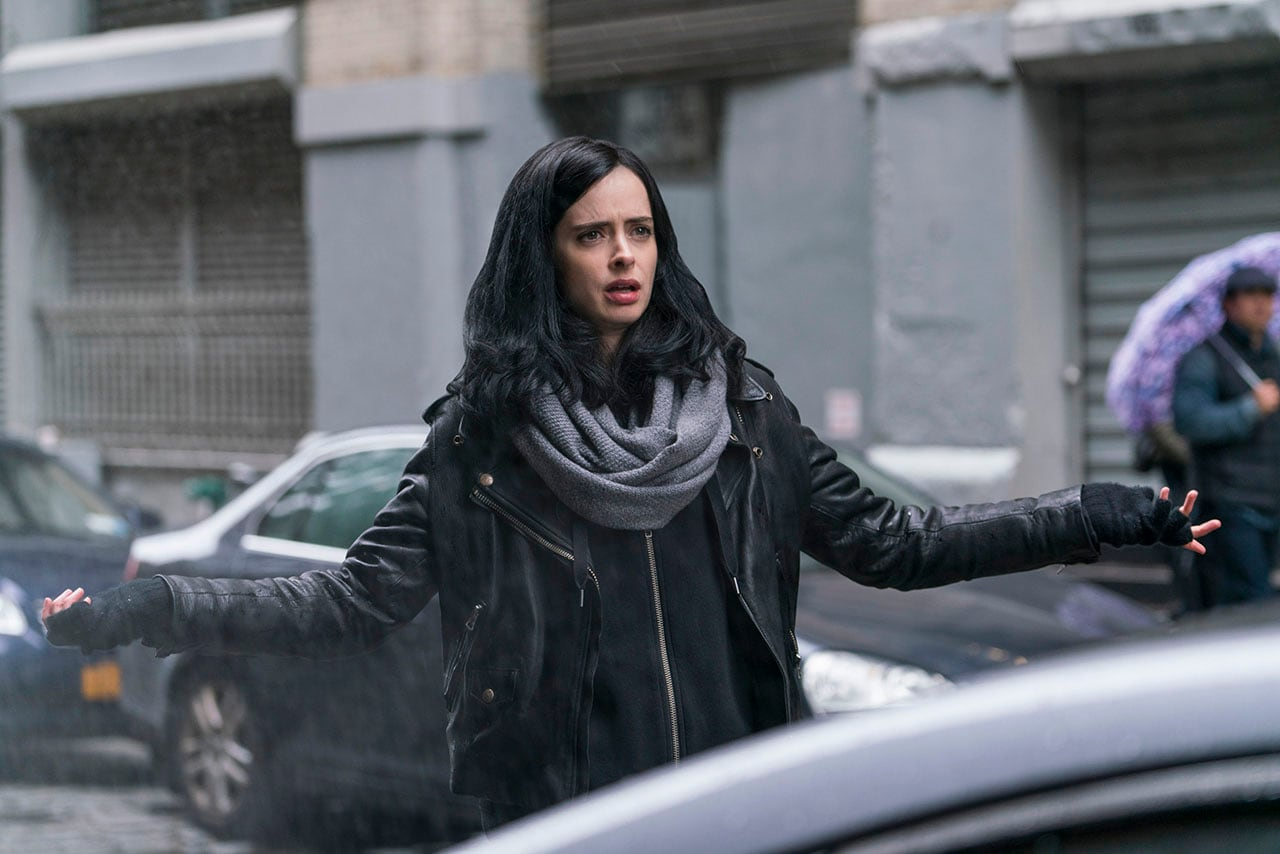 Jessica Jones' Krysten Ritter Talks Season 2, Getting Knocked Out on Set