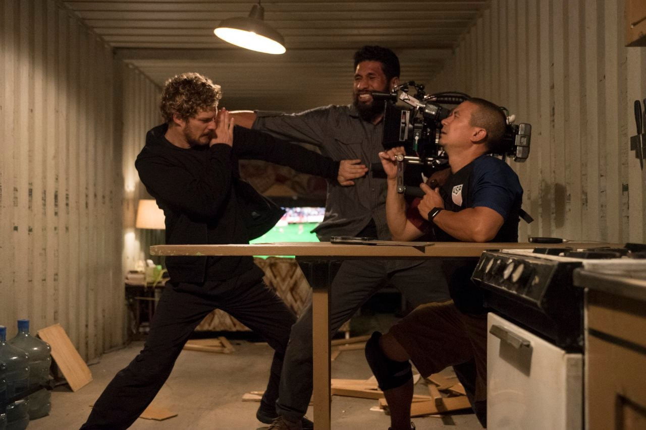 marvel iron fist bts action Marvel Iron Fist action