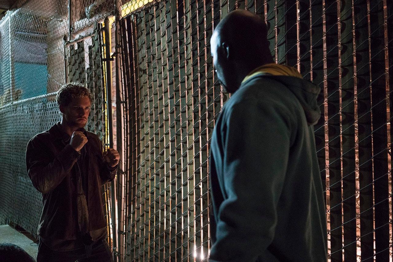 marvel the defenders iron fist luke cage Marvel The Defenders