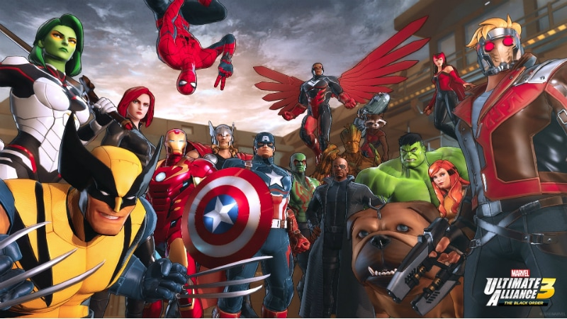 MARVEL Strikes Deal with NINTENDO For Exclusive RPG Game