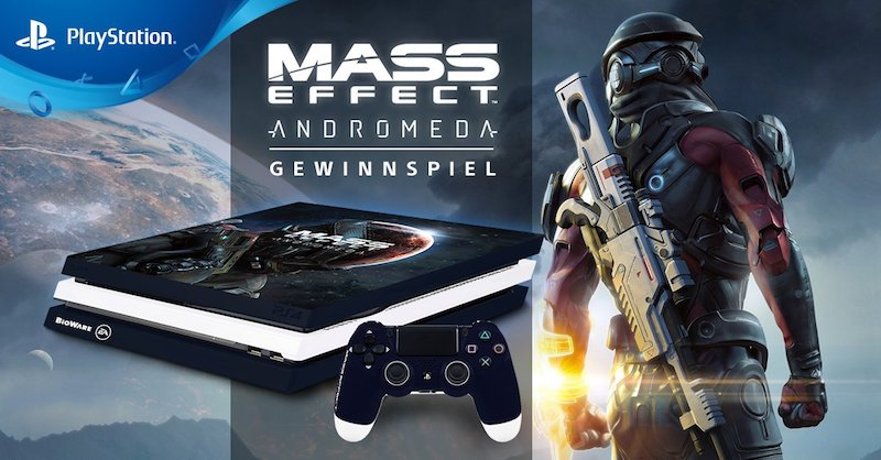 Mass Effect Andromeda Ps4 Pro Limited Edition Revealed
