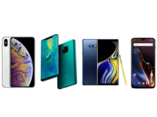 Huawei Mate 20 Pro vs OnePlus 6T vs Galaxy Note 9 vs iPhone XS Max
