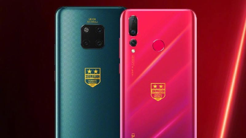 Huawei Mate 20 Pro, Nova 4 Special Edition Variants Announced to Mark 200 Million Shipments