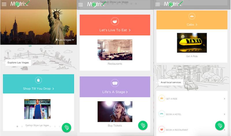 Matrix Cellular Enters E-Commerce Space With 'Travel Companion' App
