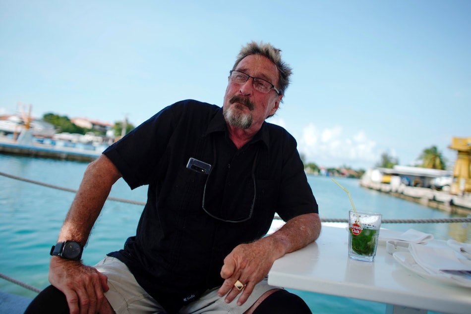 John McAfee Said to Be Jailed in Spain Over US Tax Fraud
