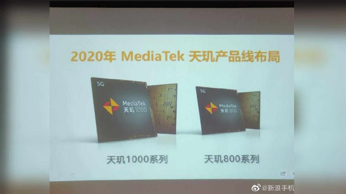 MediaTek Dimensity 800 5G SoC for Mid-Range Phones Unveiled: Report