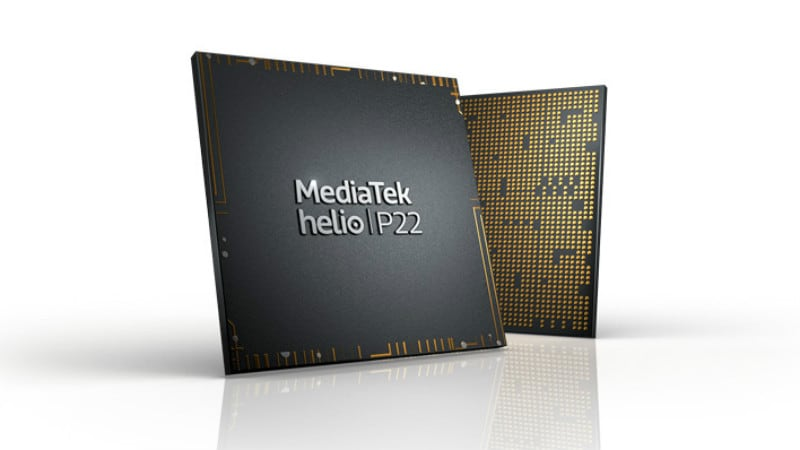 MediaTek Helio P22 SoC With Support for Dual Cameras, Up to 20:9