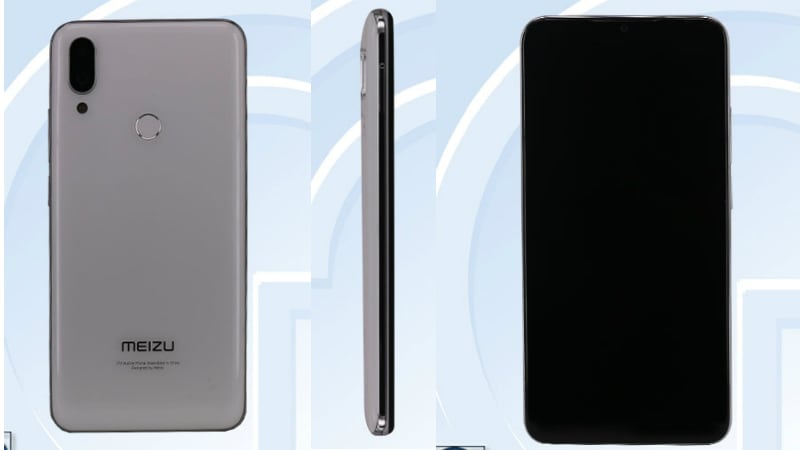 Meizu M9 Note Purported Images Appear on TENAA, Reveal Waterdrop Notch and Dual Camera Setup