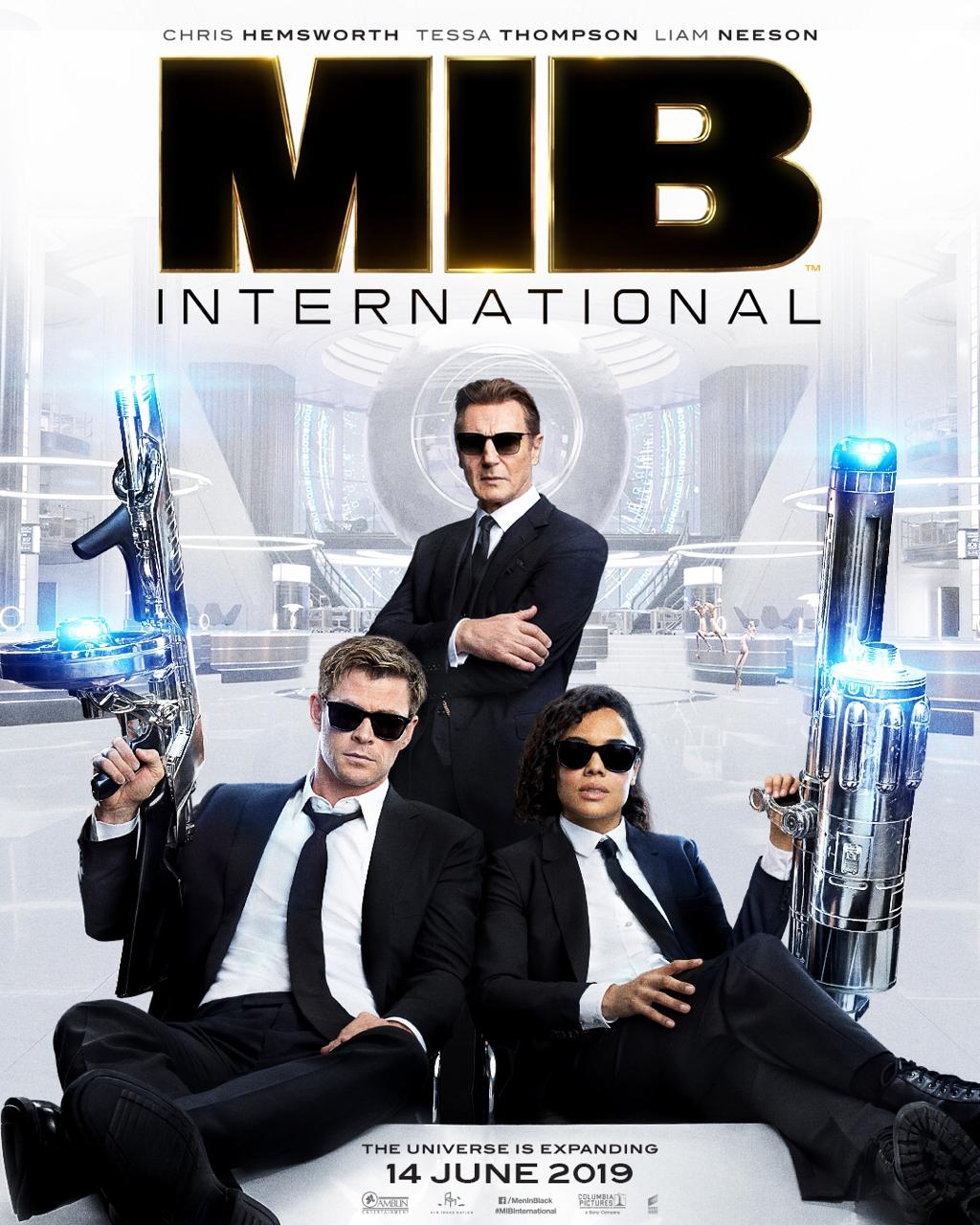 men in black intl Men in Black International poster