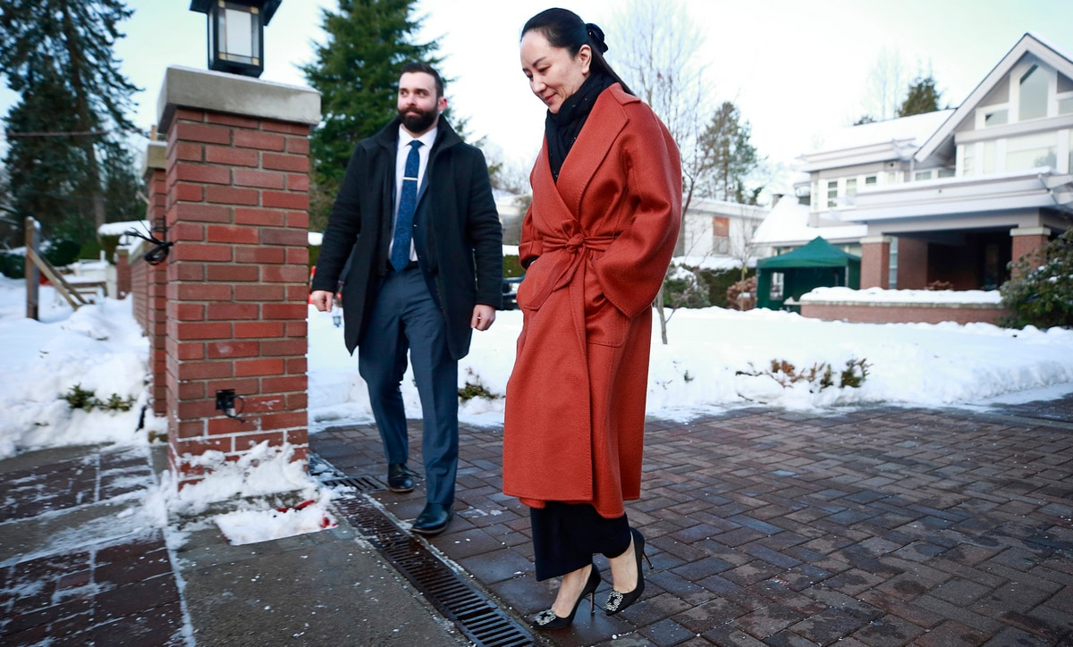 Huawei CFO Meng Wanzhou Goes to Canada Court to Fight US Extradition