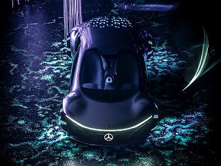 Mercedes-Benz Unveils Ultra-Luxury Concept Car 'Inspired By Avatar' That Can Read Your Mind