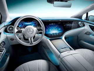 Mercedes EQE Electric Sedan Launched With 660km Range, to Compete With Tesla Model S