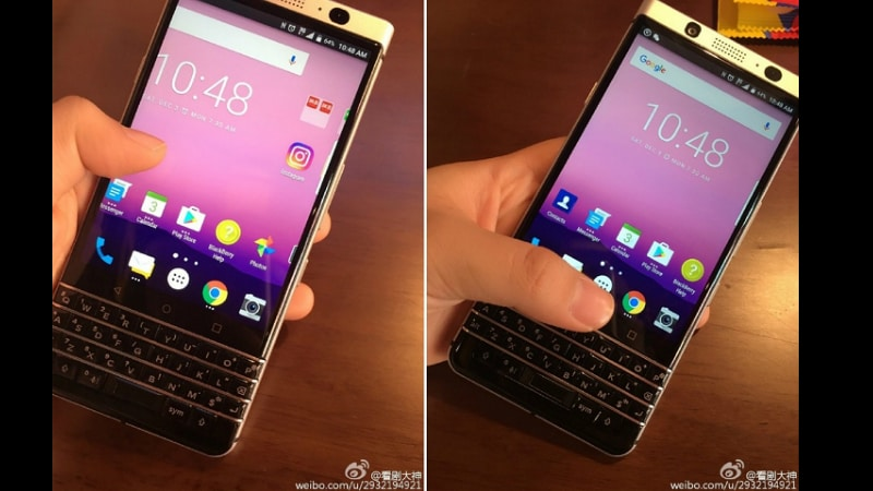 BlackBerry Mercury Smartphone With QWERTY Keyboard Leaked in Live Images
