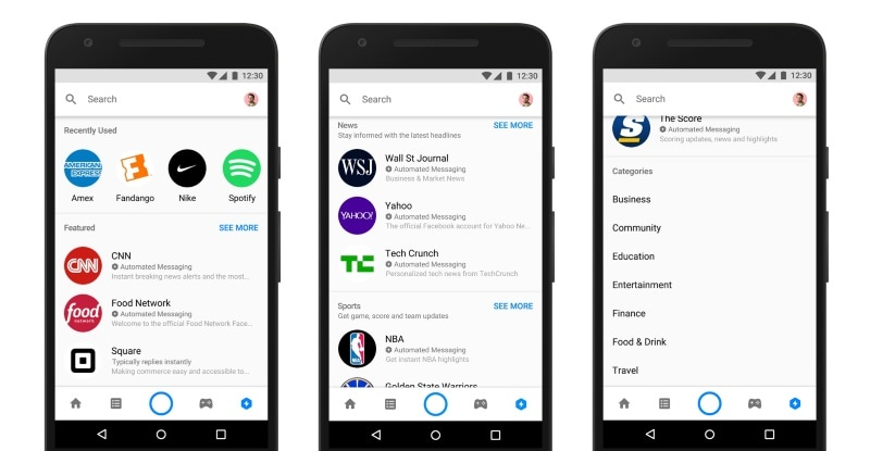 Facebook Messenger's Discover Tab Comes to India, Lets You Find Bots and Nearby Places