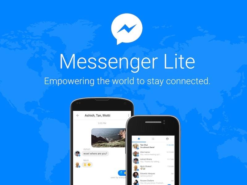 Facebook Messenger Lite एंड्रॉयड ऐप लॉन्च हुआ भारत में