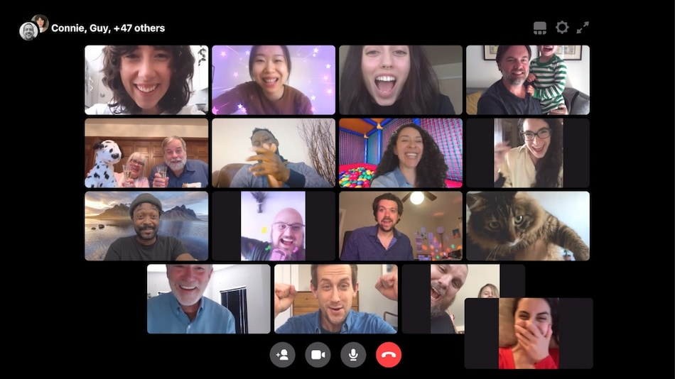 Messenger Rooms by Facebook Allowing Up to 50 Group Video Participants Now Rolling Out Globally