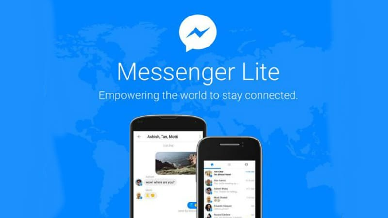 Facebook rolls out Messenger Lite in over 132 countries