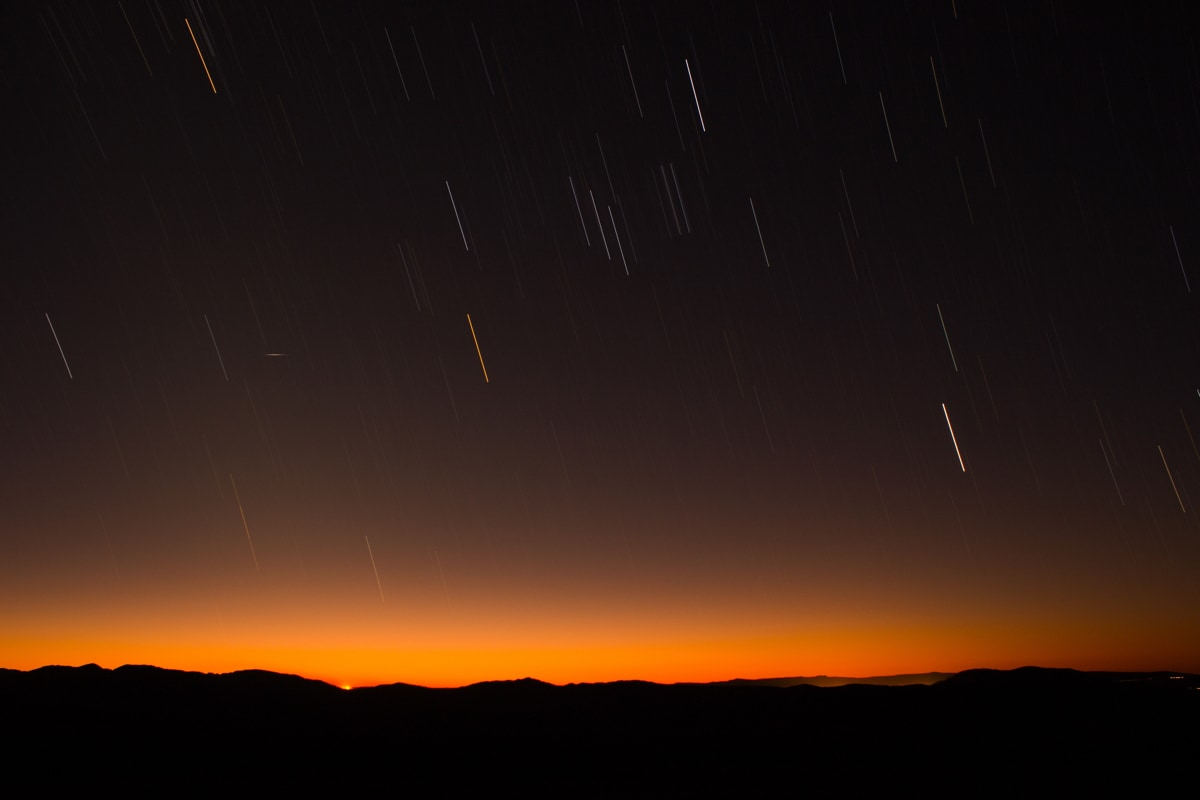 Two meteor showers to peak overnight Monday: American Meteor Society