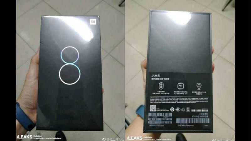 Xiaomi Mi 8 Retail Box Leaks With Partial Specifications