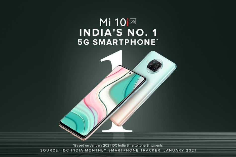 Mi 10i Becomes India's Top 5G Phone in Terms of Shipments, Xiaomi Claims