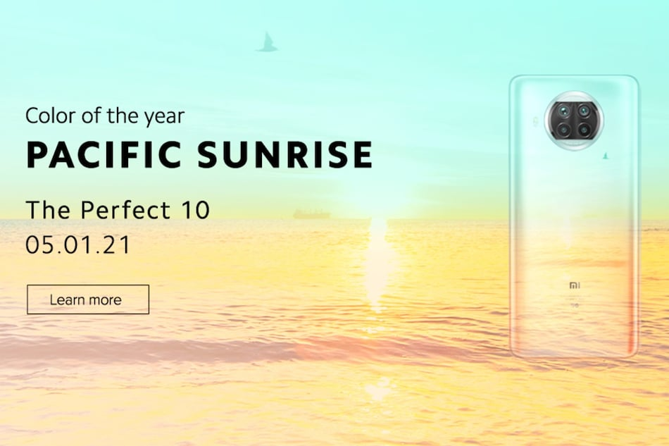Mi 10i Pacific Sunrise Colour Option Teased by Xiaomi Ahead of January 5 Launch