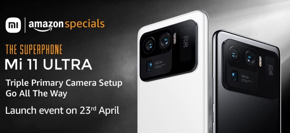 Mi 11 Ultra Amazon Availability Confirmed Ahead of April 23 Launch in India