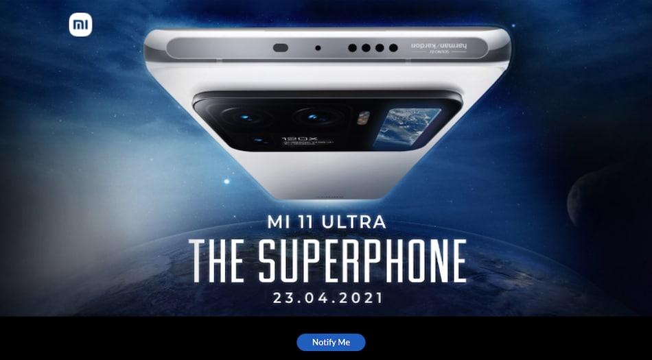 Mi 11 Ultra India Launch Set for April 23, Xiaomi Reveals