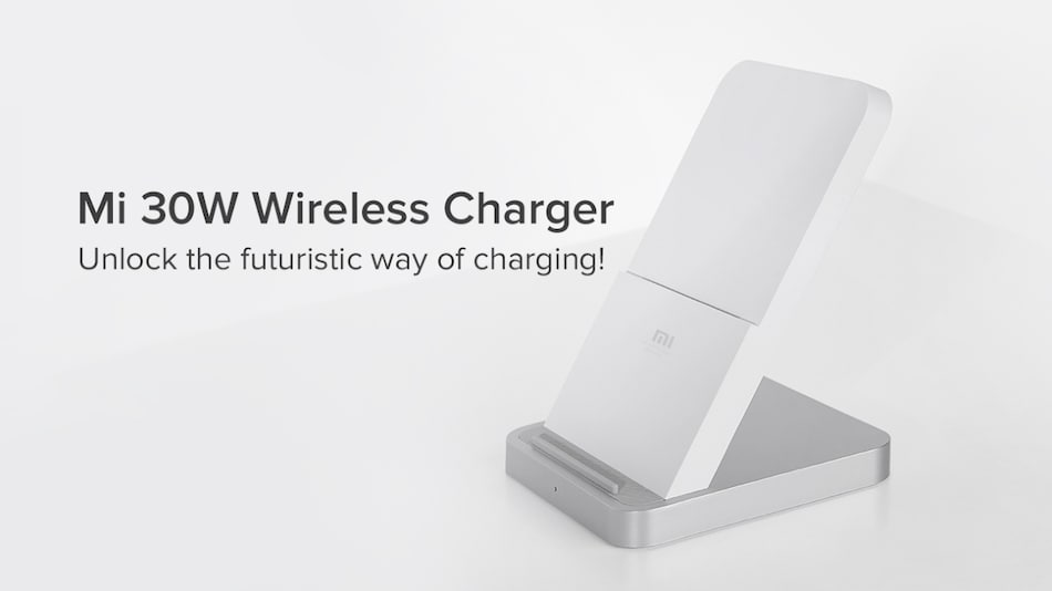 Xiaomi Mi 30W Wireless Charger With Built-in Cooling Fan Launched in India