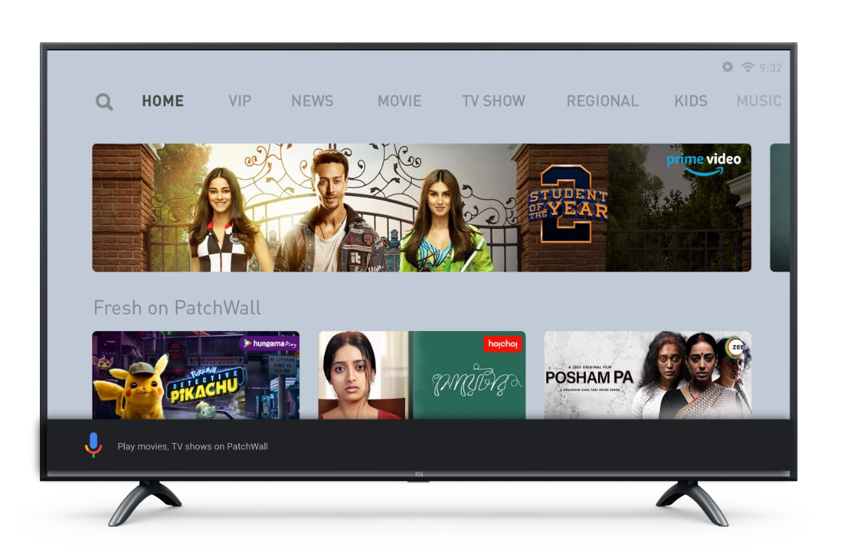 Mi TV 4X 55-Inch 2020 Edition With Dolby Audio, PatchWall 2.0, 4K HDR Display Launched in India
